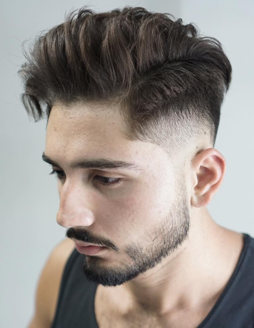 Undercut Disguised in a Side Part