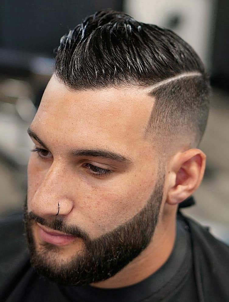 Undercut Hard Part with Tapered Sides