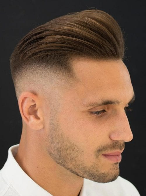 current men hair styles 50 pompadour hairstyle variations comprehensive guide 7928 | Undercut with Short Pompadour 500x672