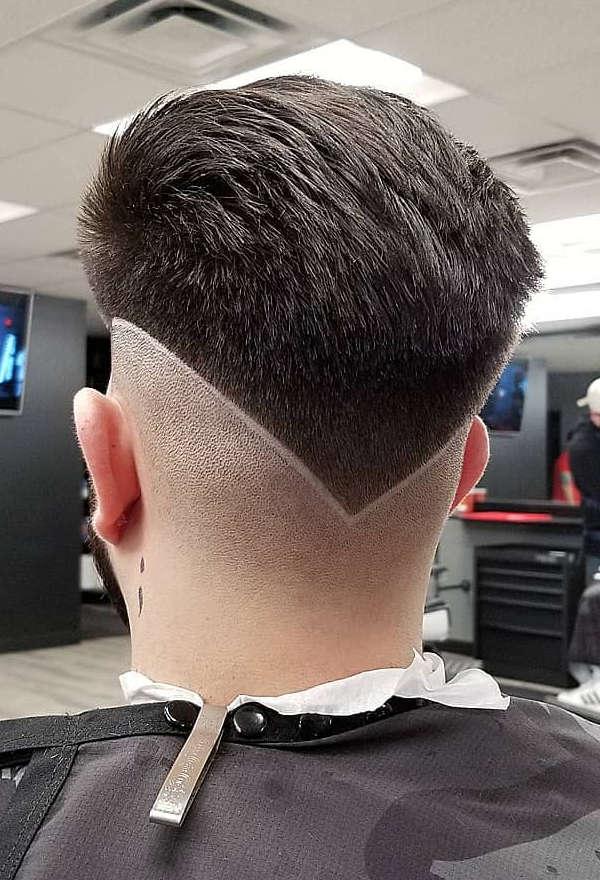 V shaped neckline