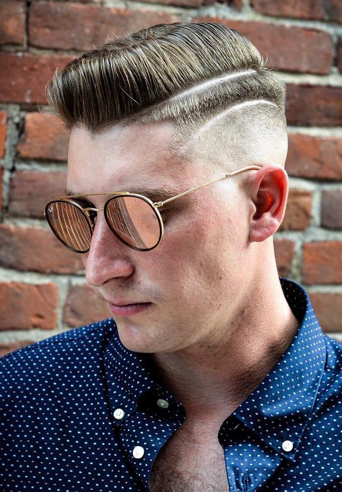 Vertical Hair with Designer Fade