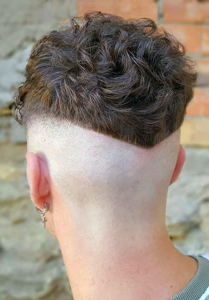 Wavy Hair with Undercut