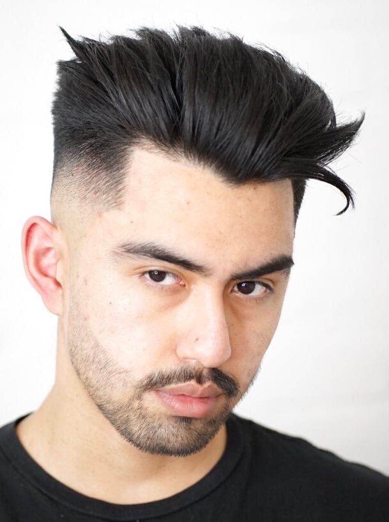 Winged Blow Out with High Volume Pushed Back