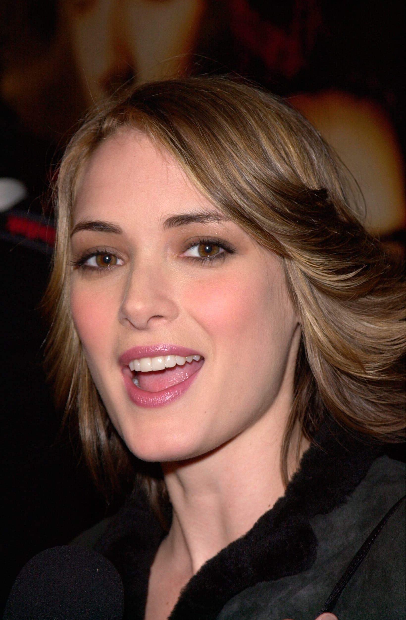 Winona Ryder's Blowdried To The Sides Bob