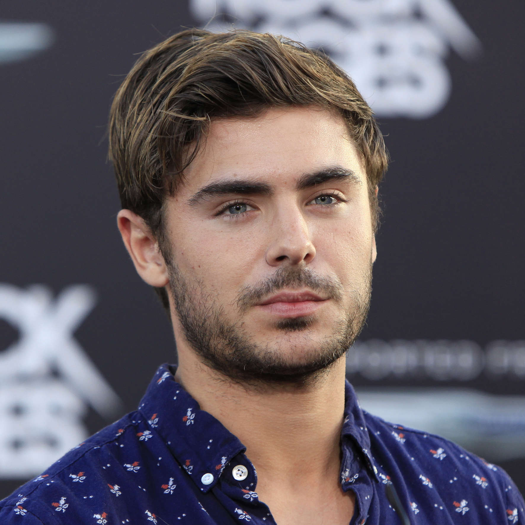 Zac Efron's Thick Hair-1-1