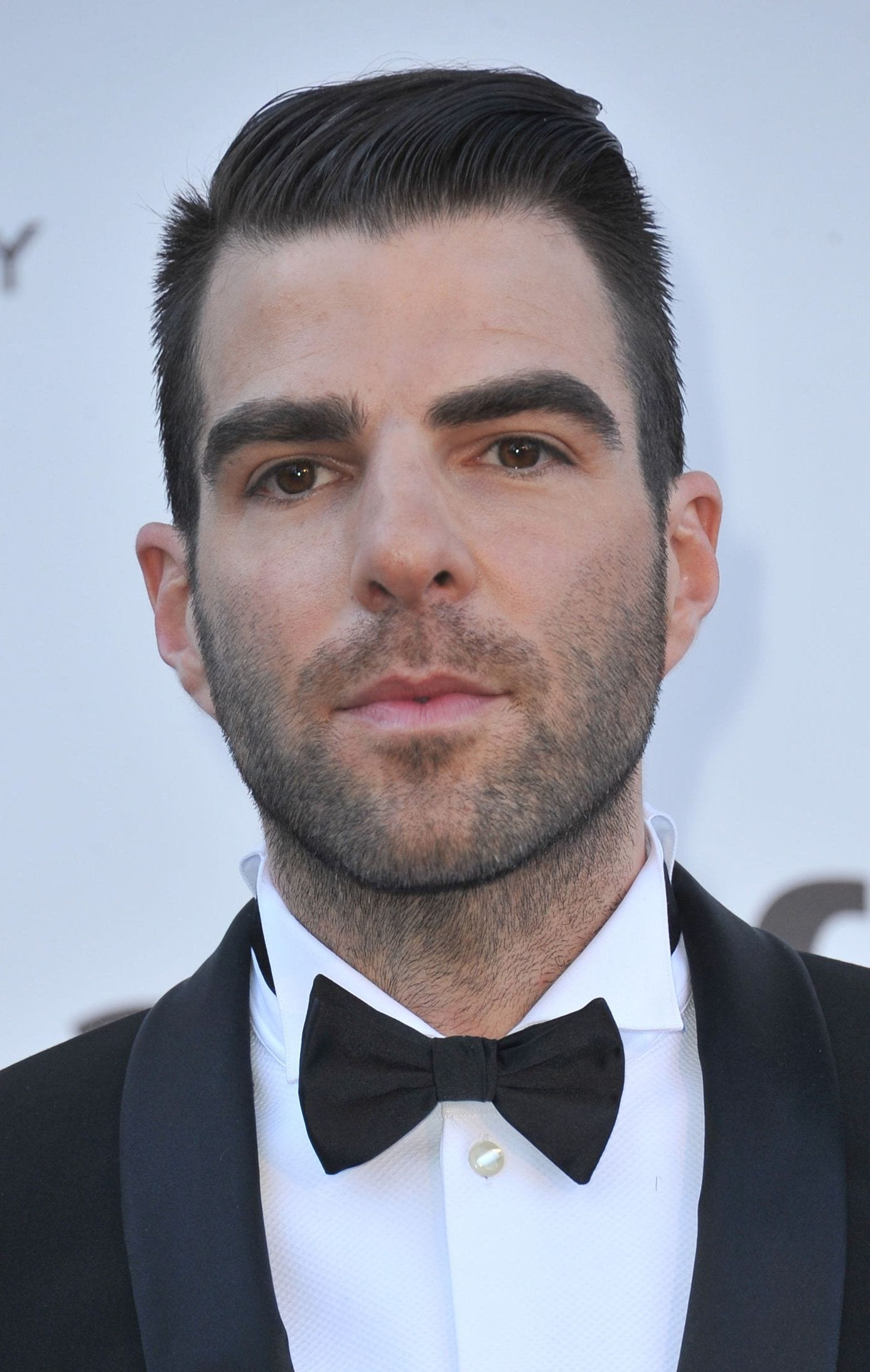 Zachary Quinto Business man short side part