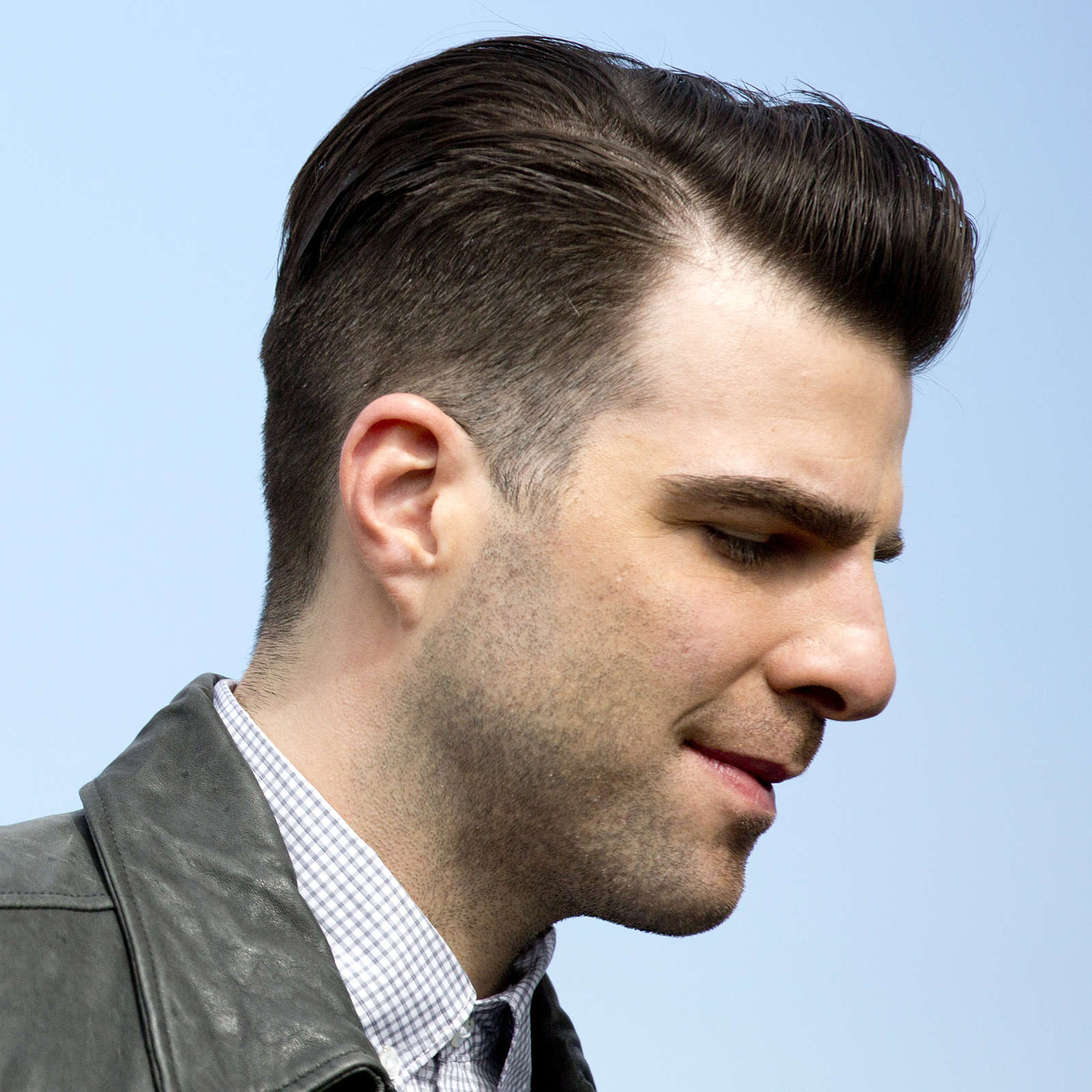 styling hair men 50 pompadour hairstyle variations comprehensive guide 6136 | Zachary Quinto pompadour