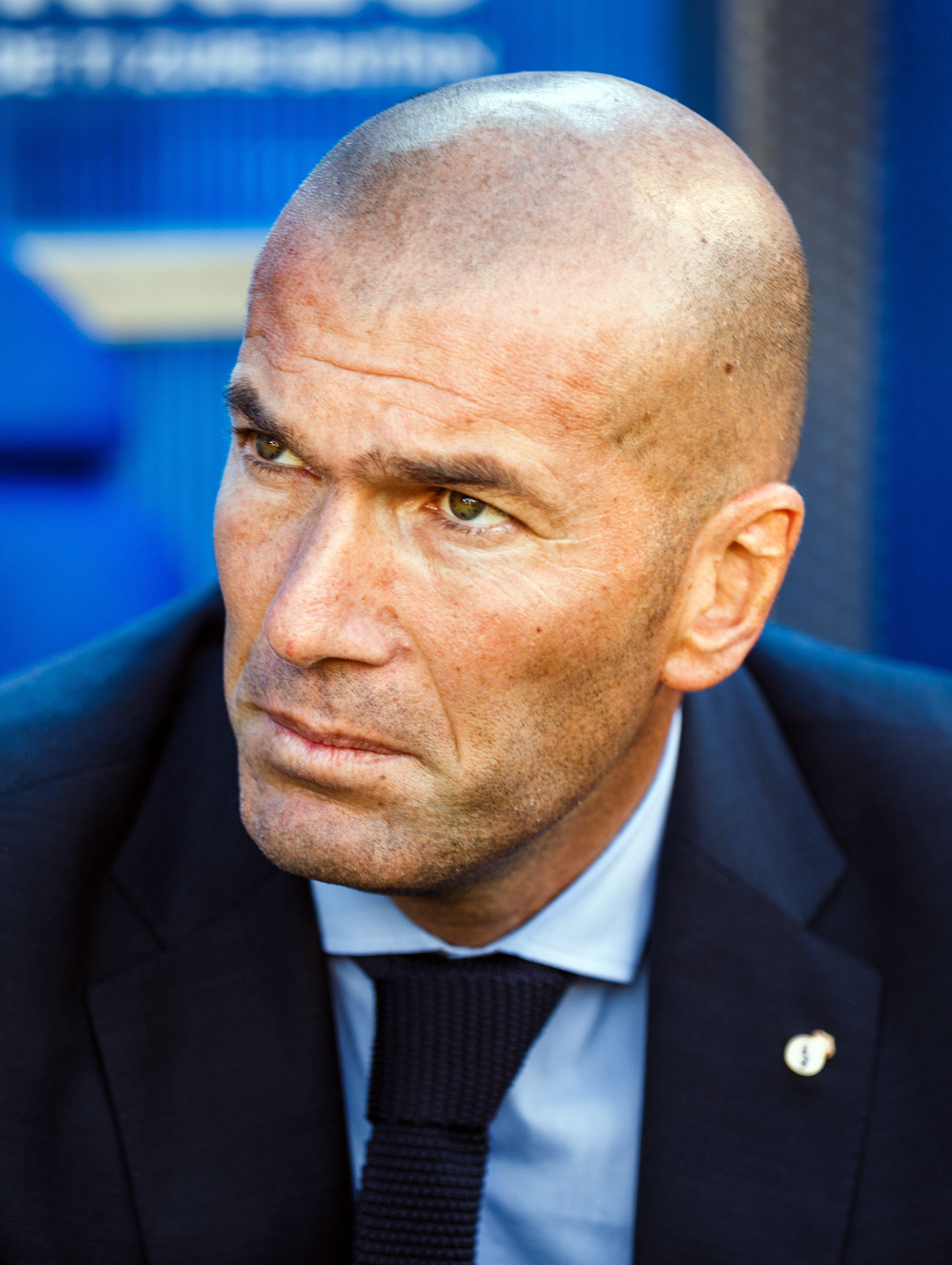 Zinedine Zidane's Badass Clean Shave