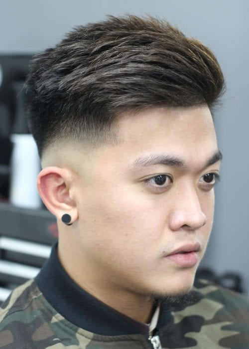 Top 11 Trendy Asian Men Hairstyles 2018