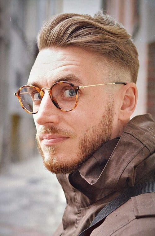 40 Favorite Haircuts For Men With Glasses: Find Your ...