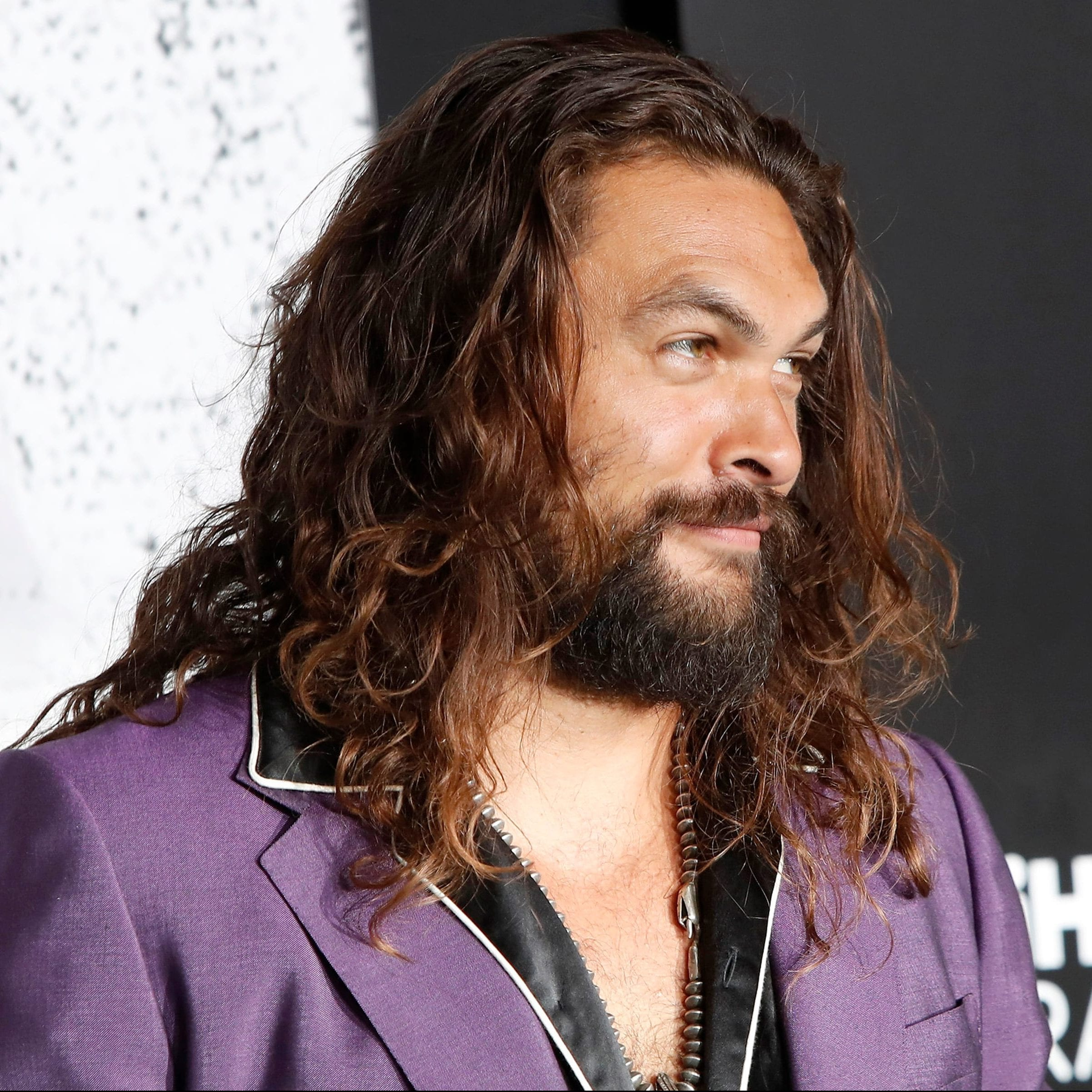 Jason Momoa with his Classic Manliness
