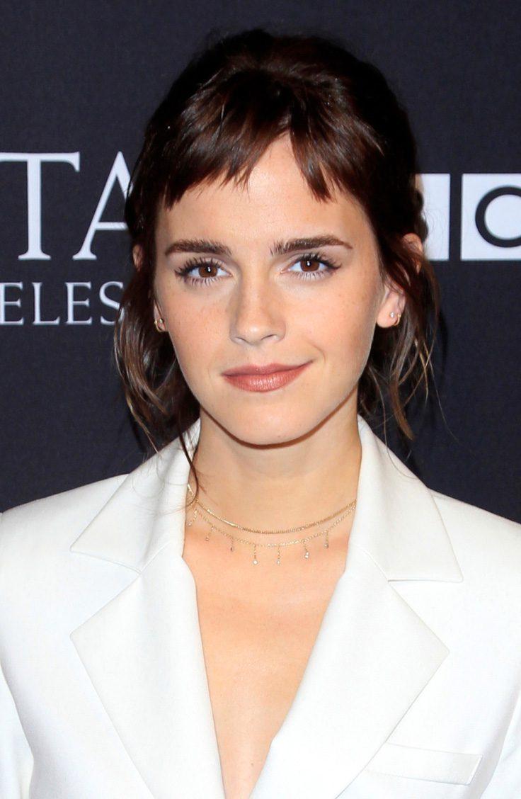 Emma Watson's Edgy Bangs