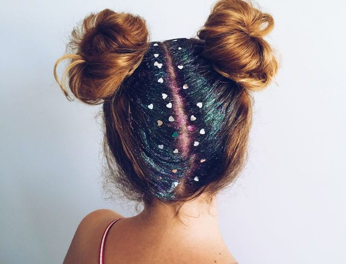 wish glitter roots parting
